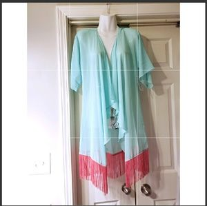 NWT LULAROE NIGHT GOWN COVER UP SIZE S